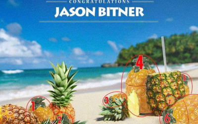 Trader Vic's pineapple mug contest